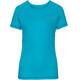 VAUDE Hallett II Shirt Women cyan